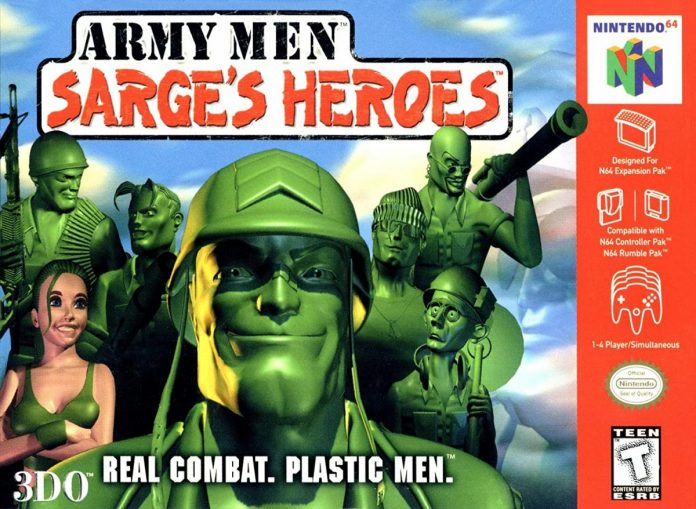 เกมทหาร Army Men Sarge's House