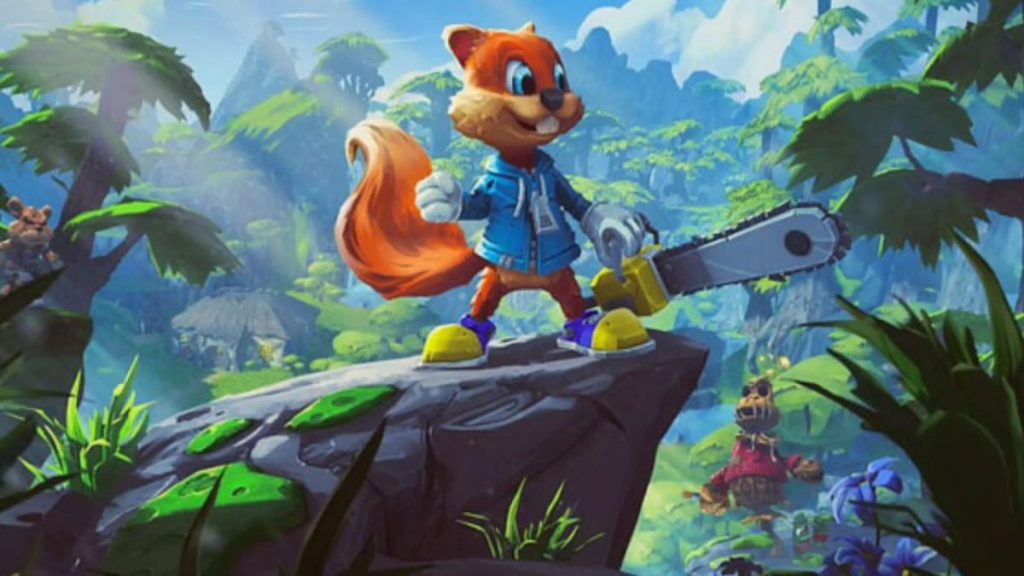 เกมดัง Conker's Bad Fur Day